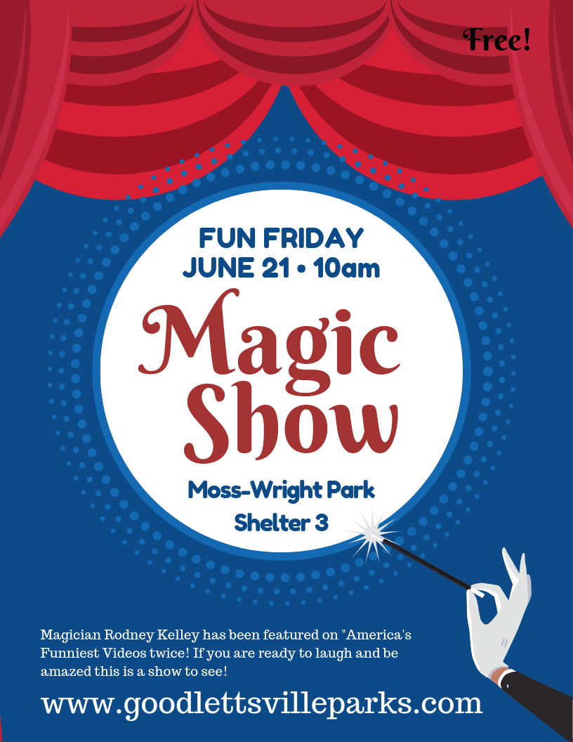 Flyer Fun Friday_Magic19 Event