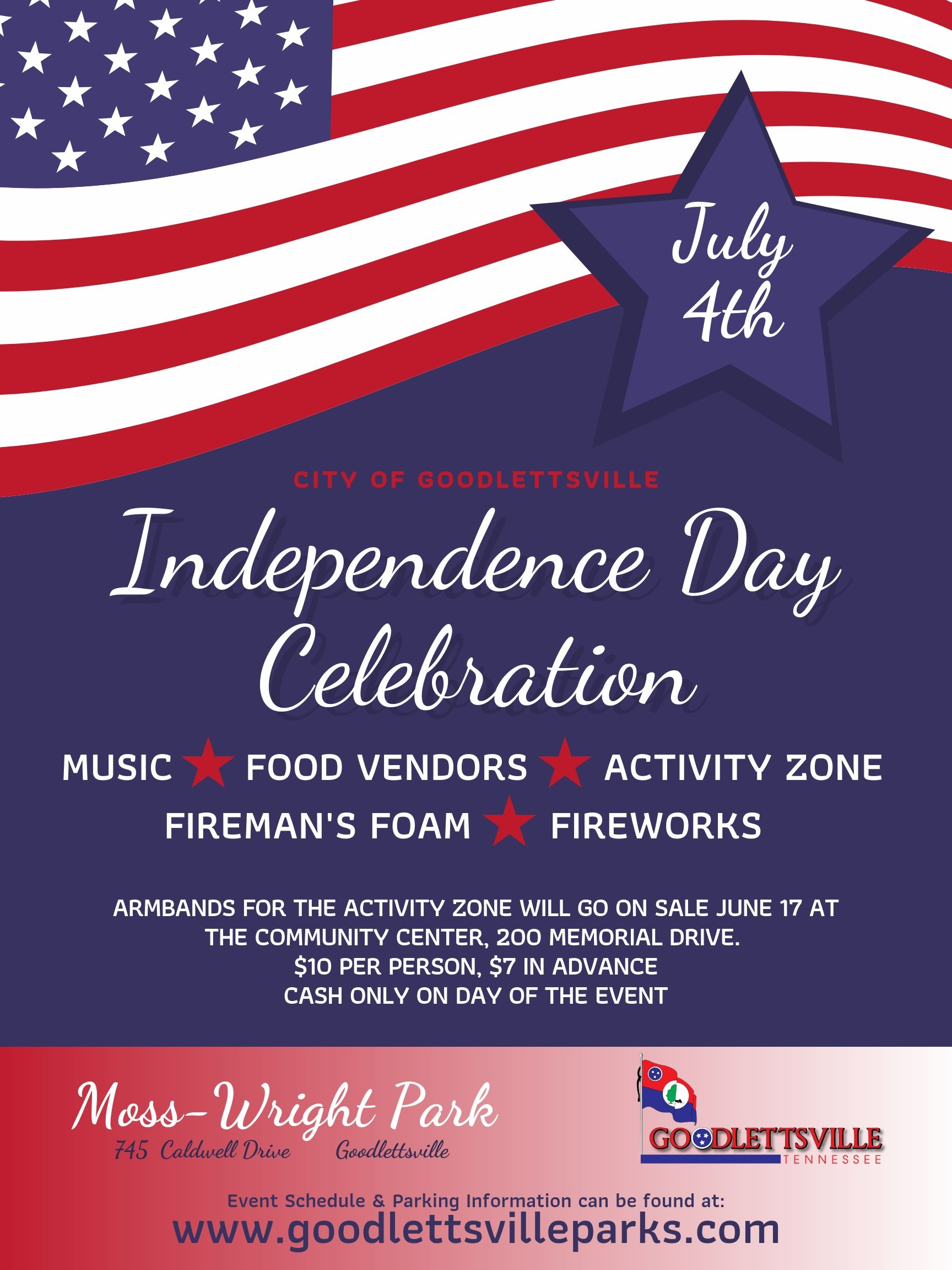 Independence Day Flyer 2019