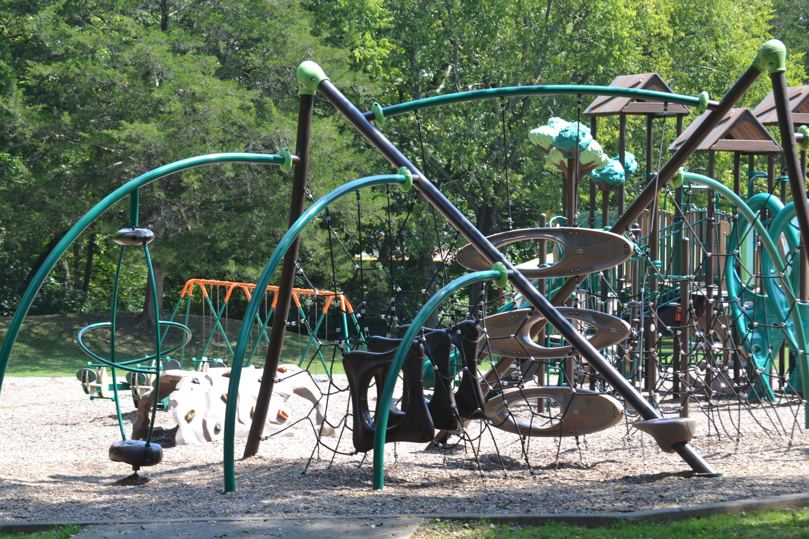 picture showing playground at Moss-Wright Park