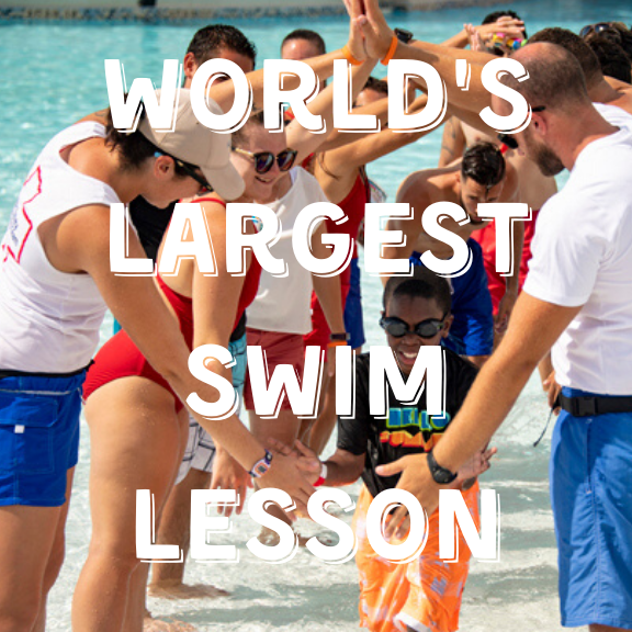 Worlds Largest Swim Lesson