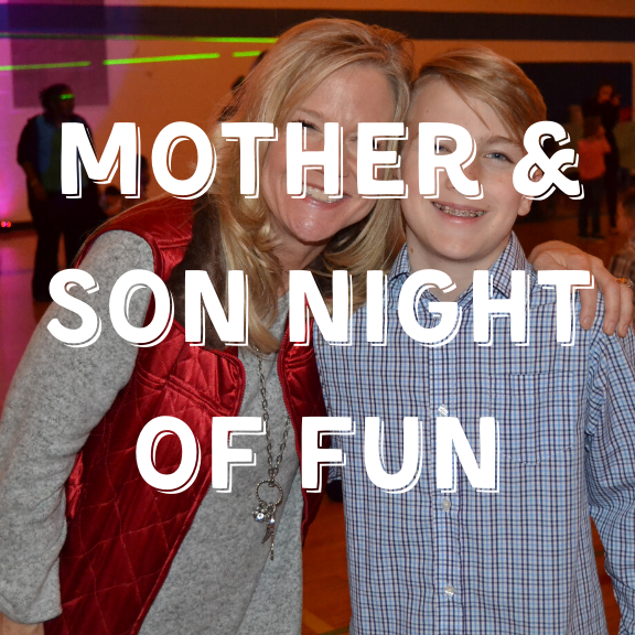 Mother and Son Night of Fun