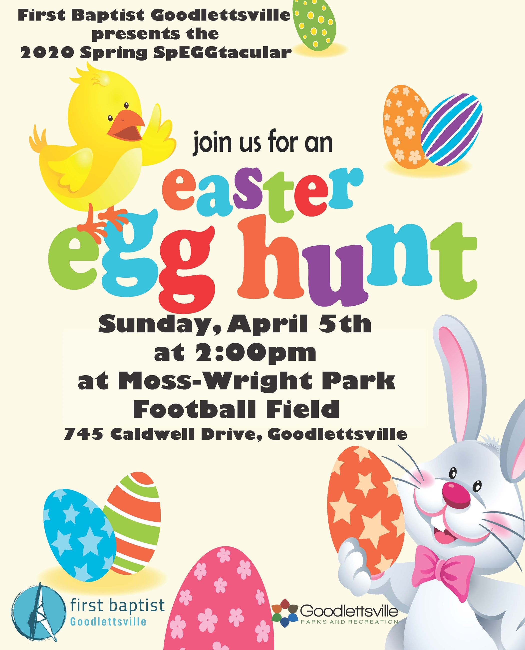 Spring SpEGGtacular Egg Hunt_Flyer_2020